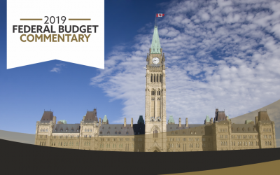 2019 Federal Budget Commentary