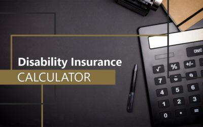Disability Insurance Calculator