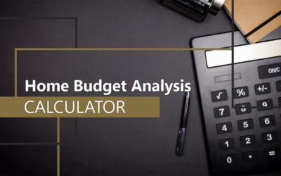 Home Budget Analysis Calculator