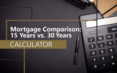 15 vs. 30 Year Mortgage