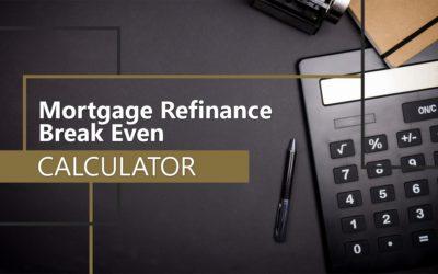 Mortgage Refinance Break-Even Calculator