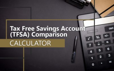 Tax Free Savings Account (TFSA) Comparison Calculator (Canadian)