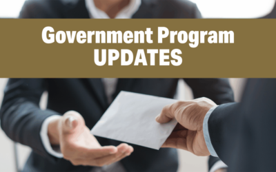 Government Program UPDATES