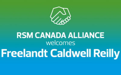 RSM Canada welcomes Freelandt Caldwell Reilly LLP to Alliance program