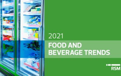 5 business trends for food and beverage companies in 2021