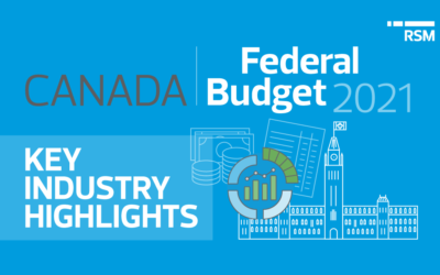 2021 Canada Federal Budget: Industry Highlights
