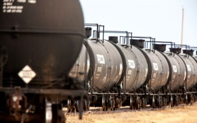 Transporting oil by railcar to increase through 2021