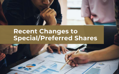 Changes to Accounting Standards for Private Enterprises: Presentation of Special/Preferred Shares